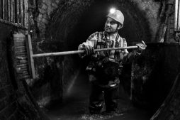 Arbeiten im Untergrund einer Stadt
