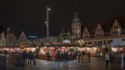 Weihnachtsmarkt vor dem alten Rathaus