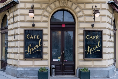 Traditionsreiches Cafe Sperl