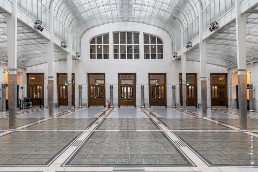 Innenansicht der historischen Postsparkasse