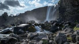 Öxarárfoss Wasserfall