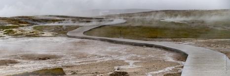 Hveravellir, Thermalgebiet im Hochland vor dem Langjoküll-Glets