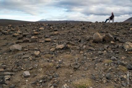 Vor Jahrzehnten haben NASA-Astronauten hier den Mondspaziergang geprobt. Vulkanebene im Nordosten.g