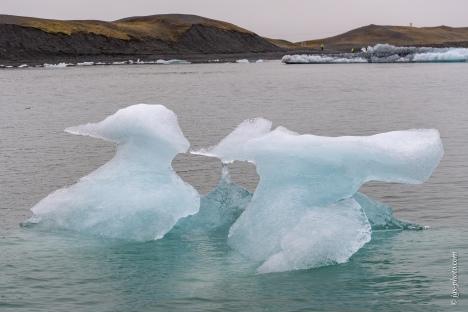 Jökulsárlón (Gletscherlagune)