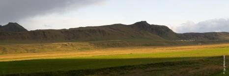 Nahe Vík í Mýrdal, einem Dorf am Fuße des Mýrdalsjökull-Gletschers