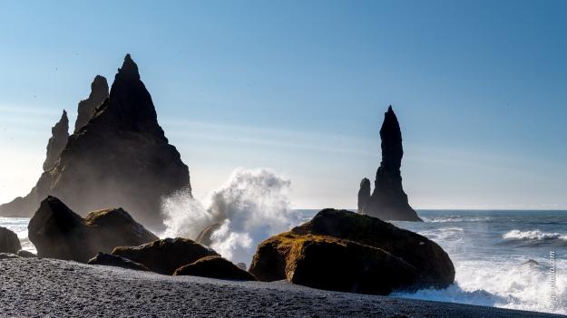 Reynisfjara (Black Sand Beach), Nahe Vik