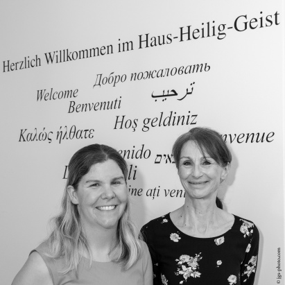 Empfang / Catering durch Heidemarie Wagner und Sabrina Sovina