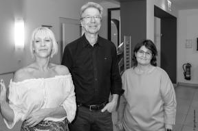 Sabine Herbrich, Siegfried Benker, Ana Thudt (v.l.n.r)