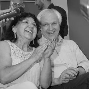Particia und Jo Wiechers (Ausstellungsbesucher)