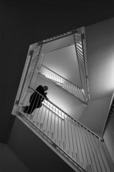 Bewegungsmangel herscht nicht bei der Vielzahl an Treppenauf- und -abgängen.